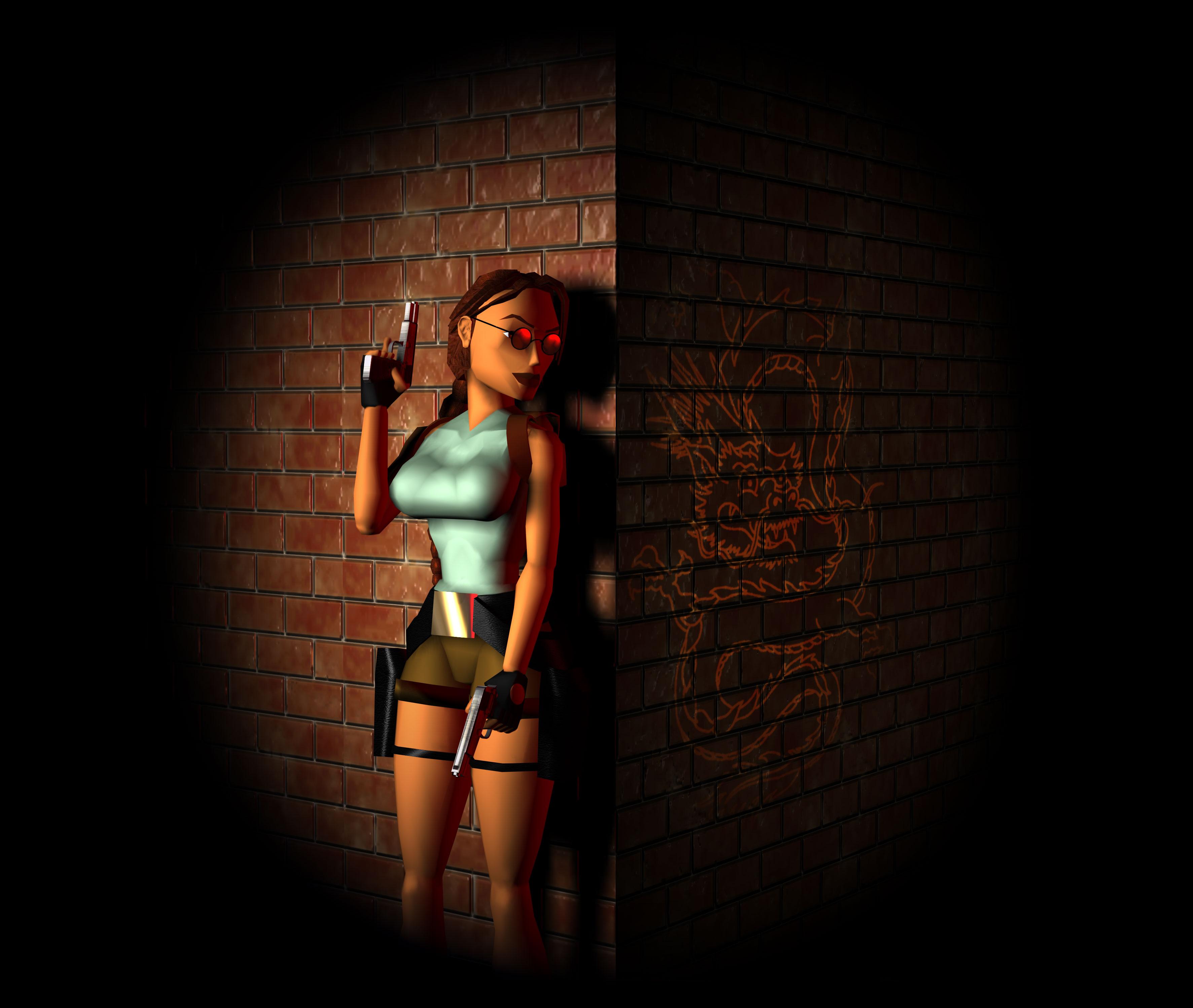 Classic Tomb Raider Wallpaper: Des Wallpapers De Tomb Raider II